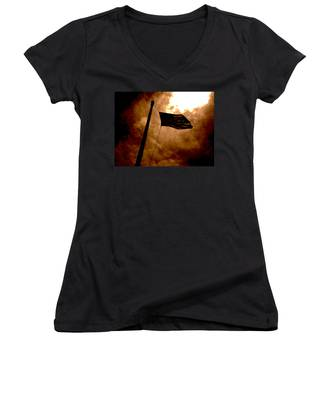 Ascend From Darkness Women's V-Neck