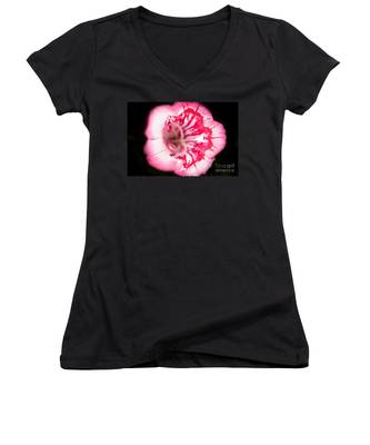 Budding Flower Women's V-Neck