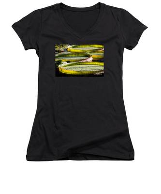 Lilly Pads Women's V-Neck