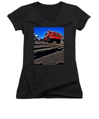 Monster Truck Women's V-Neck
