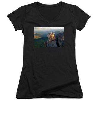 On A Clear Day Women's V-Neck