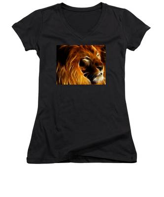 Lord Of The Jungle Women's V-Neck