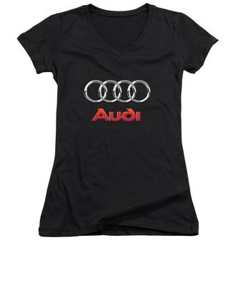 Sports Cars Women's V-Neck T-Shirts