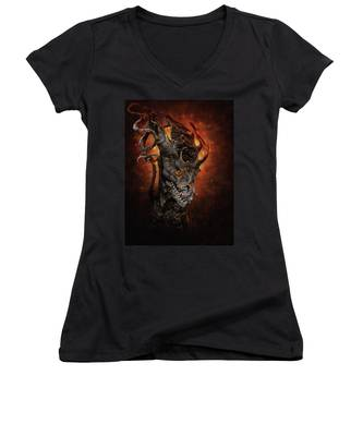 Big Dragon Women's V-Neck