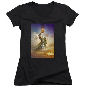 Elements Women's V-Neck
