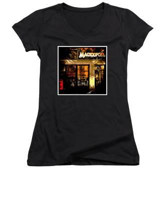 Magicopolis Window Women's V-Neck