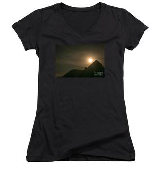 Moon Rising Women's V-Neck