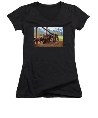 Rusty Farming Women's V-Neck