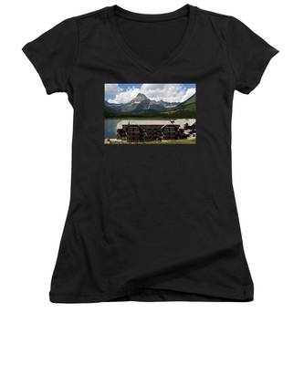 The Hills Are Alive Women's V-Neck