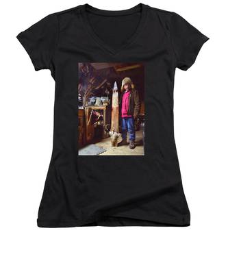 The Stretching Board Women's V-Neck