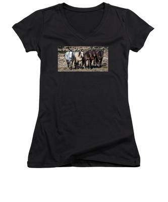All In A Row Women's V-Neck