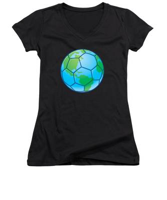 Video Game Women's V-Neck T-Shirts