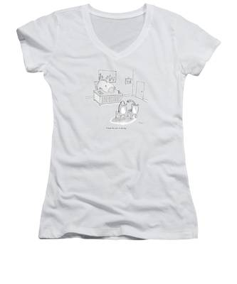 I Think This One's In The Bag Women's V-Neck
