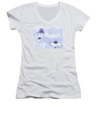 Flower Trio  Women's V-Neck