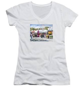 Greenwich Art Fair Women's V-Neck
