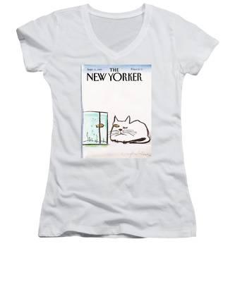 New Yorker September 11th, 1989 Women's V-Neck