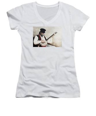 The Music Man Women's V-Neck