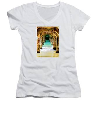 Tranquility Below Women's V-Neck