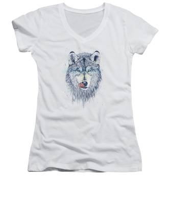 Animal Women's V-Neck T-Shirts