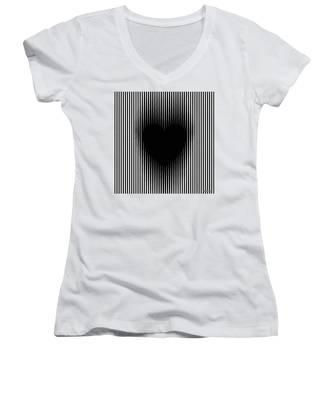 Expanding Heart Women's V-Neck