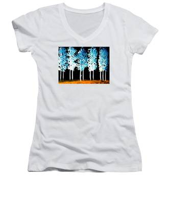 Forest Of Nightmares  Women's V-Neck