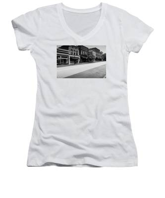 Historic Buford Downtown Area Women's V-Neck