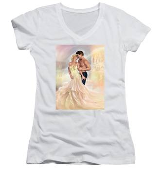 In Love Women's V-Neck