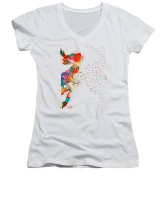 Expressive Women's V-Neck T-Shirts