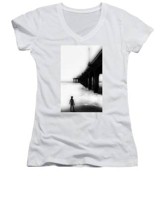 Testing The Waters Women's V-Neck