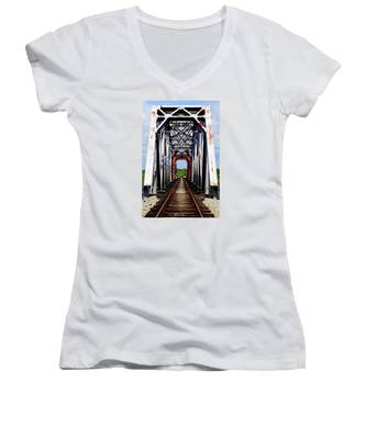 The Way Is Clear Women's V-Neck