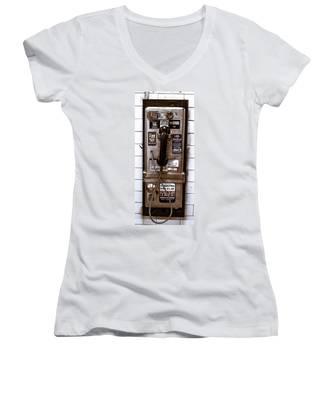 Payphone Women's V-Neck