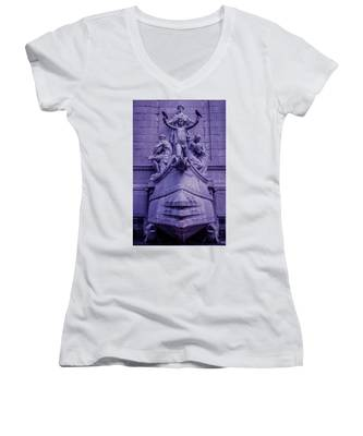 Pigeon Placement Women's V-Neck