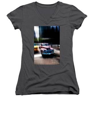 attracting curves III2 Women's V-Neck