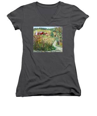 Meadow Farm Women's V-Neck