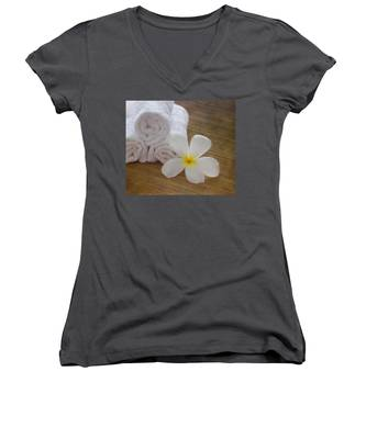 Relax At The Spa Women's V-Neck