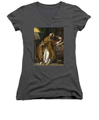 Saint Augustine Women's V-Neck