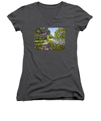 The White Fence Women's V-Neck