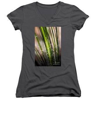 Tropical Grass Women's V-Neck