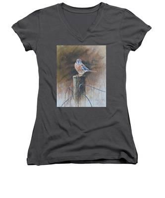 American Kestrel Women's V-Neck