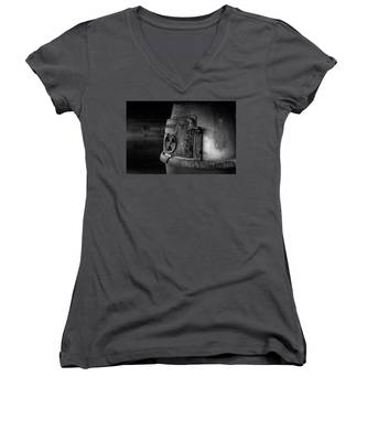 An Antique Stove Women's V-Neck