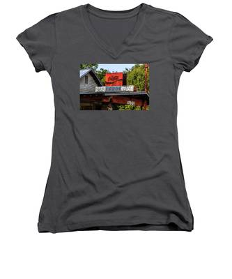 Bo's Grocery Women's V-Neck
