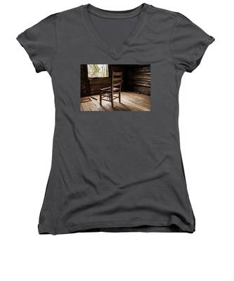 Broken Chair Women's V-Neck