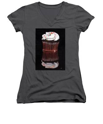 Cupcake Reflections Women's V-Neck