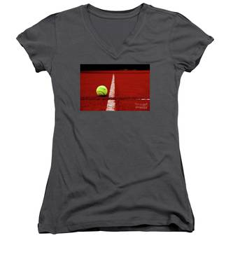 Down And Out Women's V-Neck