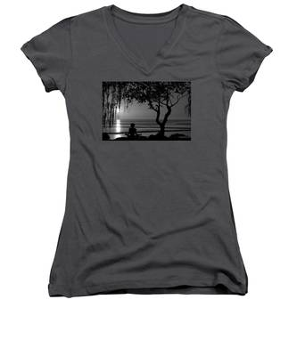 Meditative State Women's V-Neck