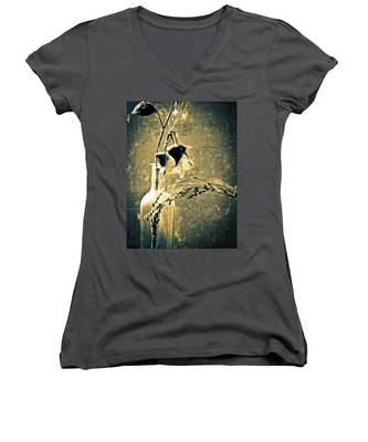 Milk Weed And Hay Women's V-Neck