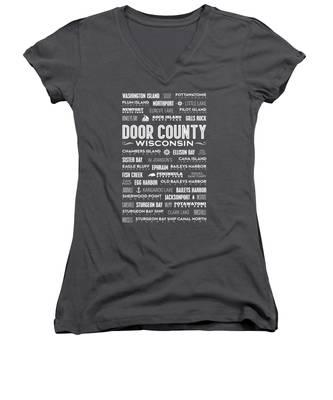 Ridge Women's V-Neck T-Shirts