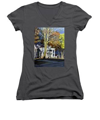 Rise Above The Storm Women's V-Neck