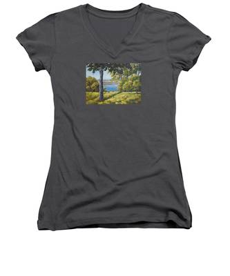 Rock Cut State Park Women's V-Neck
