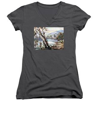 Snowy River Women's V-Neck